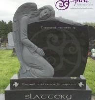 Black Granite with Angel 003