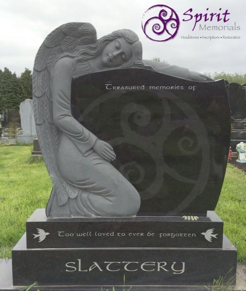 Black Granite with Angel