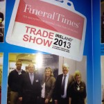 Spirit Memorials pictured at annual Funeral Times trade show.